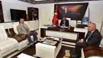 SELAHATTIN GÜRKAN - DSİ 92. Şube Müdürü Tüfekci Başkan Gürkan'ı Ziyaret Etti