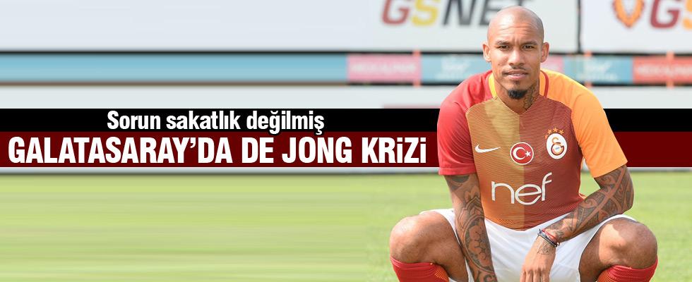 Galatasaray'da Nigel de Jong krizi