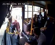 GÜZERGAH - Halk Otobüsü Sürücüsünün Bıçaklanma Anı Kamerada