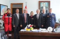 İTFAİYE MÜDÜRÜ - İtfaiye Personeli Protokolü Ziyaret Etti