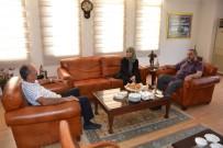 ÇENGELKÖY - Kahraman Muhtar Can Cumurcu, Başkan Saatcı'yı Ziyaret Etti
