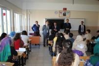 GÖLBAŞI - Kaymakam Murat Zadeleroğlu, Gölbaşı Fen Lisesini Ziyaret Etti