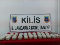 İL JANDARMA KOMUTANLIĞI - Kilis'te 13 Kilo Toz Esrar Ele Geçirildi