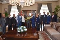 BERABERLIK - MHP Manisa Teşkilatından Vali Güvençer'e Ziyaret