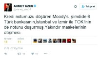 KERVAN - Milletvekili Uzer'den Moody's Tepkisi