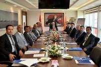 VALİ YARDIMCISI - MTOSB Müteşebbis Heyeti, Vali Çakacak Başkanlığında Toplandı