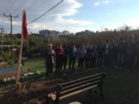 VAHDETTIN - Öğrenciler Şehit Ercan Çelik'in Kabrini Ziyaret Ettiler