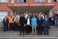 Trabzonspor'dan Beşikdüzü'ne Geçmiş Olsun Ziyareti