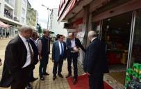 TTSO Başkan Ve Yönetim Kurulu Üyeleri Selden Zarar Gören Beşikdüzü'nü Ziyaret Etti