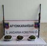 İL JANDARMA KOMUTANLIĞI - Afyonkarahisar'da Jandarma Bin 913 Gram Esrar Ele Geçirdi