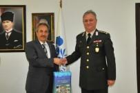 AKŞEHİR BELEDİYESİ - Albay Canol'dan Başkan Akkaya'ya Veda Ziyareti