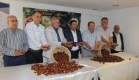 MECLIS BAŞKANı - Aydın'da Sezonun İlk Kestanesi Borsa'ya Teslim Edildi
