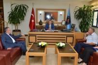EĞİTİM KALİTESİ - Başkan Böcek, Rektör Ünal'ı Ziyaret Etti