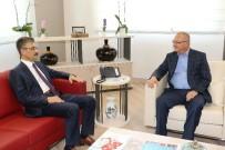 TAZİYE ZİYARETİ - Başkan Ergün'e Taziye Ziyaretleri