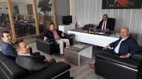SOSYAL YARDıMLAŞMA VE DAYANıŞMA VAKFı - Başkan Uçar'dan Müdür Aydın'a Ziyaret