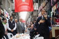 ÇÖP KONTEYNERİ - Belediye Başkanı Demir Esnafla Bir Araya Geldi