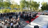İLÇE MİLLİ EĞİTİM MÜDÜRÜ - 'Ben De Yüzüyorum Ve Pedallı Yorum Projesi'  Start Aldı
