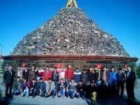TÜRKİYE CUMHURİYETİ - Çıraklık Eğitim Merkezi Öğrencileri Şehitler Anıtını Ziyaret Etti