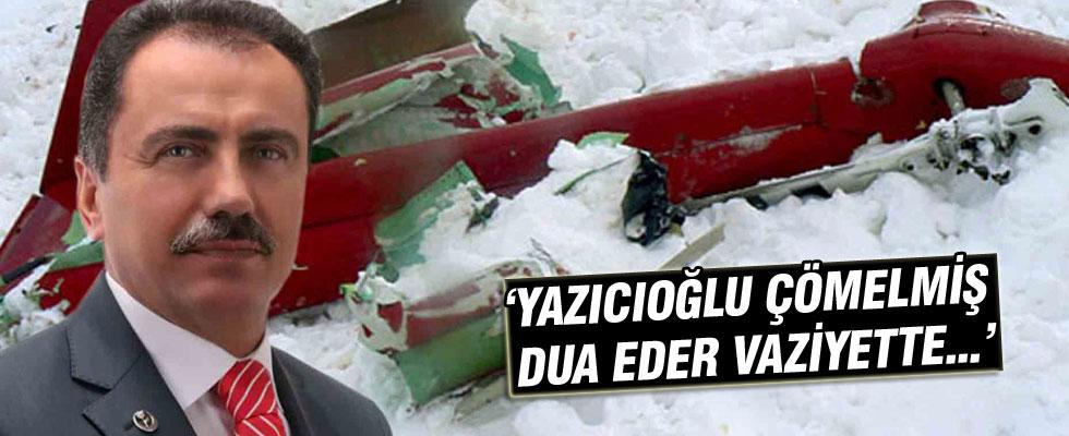 Emrullah Önalan: Yazıcıoğlu'nun çömelmiş, dua eder vaziyetteki görüntülerini gördüm