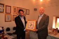 KıRKA - Eti Maden Genel Müdürü Bostancı'dan Başkan Kalın'a Ziyaret
