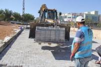MUSTAFA YıLDıZ - Eyyübiye Belediyesi Yol Yapım Çalışmalarını Sürdürüyor