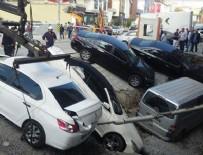 GÖRGÜ TANIĞI - İstanbul Merter'de yol çöktü