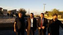 MUSTAFA ELDIVAN - Milletvekili Açıkgöz, Çat Kasabasında Asfalt Yapımını İnceledi