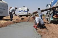 TOPLU KONUT - Sınırdaki Güvenlik Duvarı Çalışmaları Hızlandı