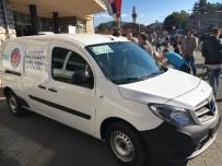 BELGRAD - Sırbistan'ın Novi Pazar Şehrine Cenaze Aracı Desteği