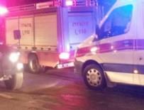 YANGıN YERI - Şırnak'ta cezaevinde yangın