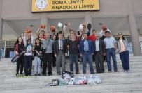 BEDEN EĞİTİMİ ÖĞRETMENİ - Soma Küçük Sanayi Esnafından Öğrencilere Jest