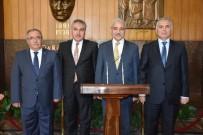 MEHMET NACAR - Vali Güvençer, 3 İlin Valisini Ağırladı