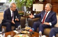 KAMULAŞTIRMA - Bakan Arslan'dan İzmir Büyükşehir Belediyesi'ne Ziyaret