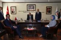 AİLE VE SOSYAL POLİTİKALAR BAKANI - Bakanlardan Başkan Zolan'a Ziyaret