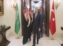 DIŞİŞLERİ BAKANLARI - Başbakan Yıldırım, Suudi Prens İle Görüştü
