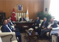 GRUP BAŞKANVEKİLİ - Başkan Yavaş'tan Turan'a Ziyaret