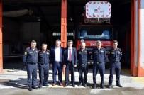 BOZÜYÜK BELEDİYESİ - Belediye Başkan Yardımcısı Ali Avcıoğlu İtfaiyeciler İle Bir Araya Geldi