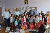 ALI ERDOĞAN - Besni'de Suriyeli Öğrencilere Kırtasiye Yardımı