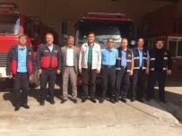 İTFAİYE MÜDÜRÜ - CHP Bilecik Belediye Meclis Üyesi Yeşil'den İtfaiyecilere Ziyaret
