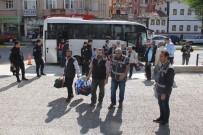 Çorum'da FETÖ'den Gözaltına Alınan 23 Kişi Adliyeye Sevk Edildi