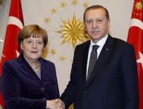 FIRAT KALKANI - Cumhurbaşkanı Erdoğan ve Merkel Suriye'yi görüştü