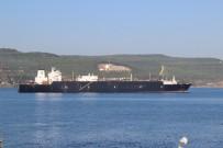 KIYI EMNİYETİ - Doğalgaz Tankeri Çanakkale Boğazı'ndan Geçti