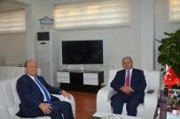 EMEKLİLİK - İl Emniyet Müdürü Böğürcü'den Başkan Özakcan'a Veda Ziyareti