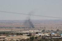 FIRAT KALKANI - IŞİD Mevzilerindeki Araçlar Tam İsabetle Vuruldu
