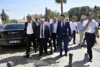 JANDARMA KOMUTANI - Mehmet Akyürek'ten Ceylanpınar'a Ziyaret