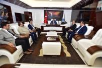 SELAHATTIN GÜRKAN - Oda Başkanı Boyraz Başkan Gürkan'ı Ziyaret Etti