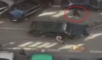 GÜVENLİK ÖNLEMİ - Önce Araçlara Çarptı, Sonra Palayla Saldırdı