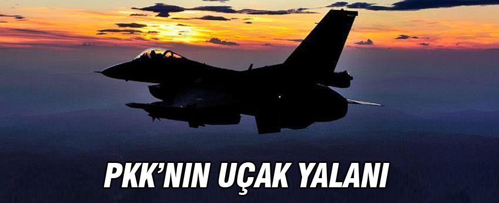 PKK'nın yeni yalanı: Türk F-16'sı düşürdük