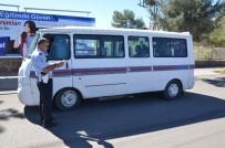 EMNIYET KEMERI - Siverek'te Okul Taşıtları İle Yolcu Minibüslerinde Denetleme