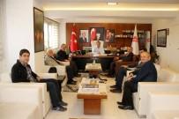 TAZİYE ZİYARETİ - Türkiye Gazetesi'nden Sütlüoğlu'na Taziye Ziyareti